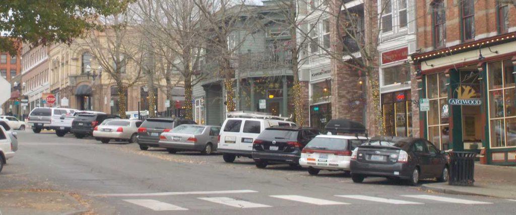 Fairhaven neighborhood Bellingham Washington stores and shops.